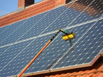 Solar Panel Cleaning In Bournemouth Dorset Coastal